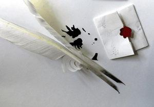 Tintenklecks und Gänsekiel