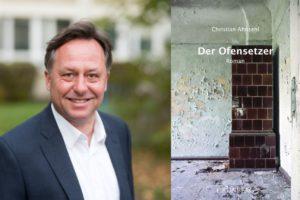 Christian Ahnsehl mit seinem Roman Der Ofensetzer