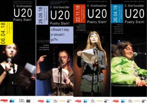 Plakate Poetry Slam 2018-1019